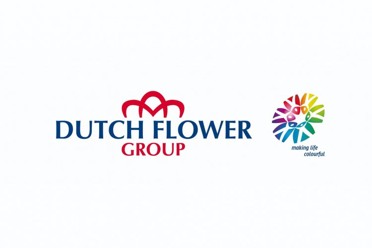 Dutch flower group logo j