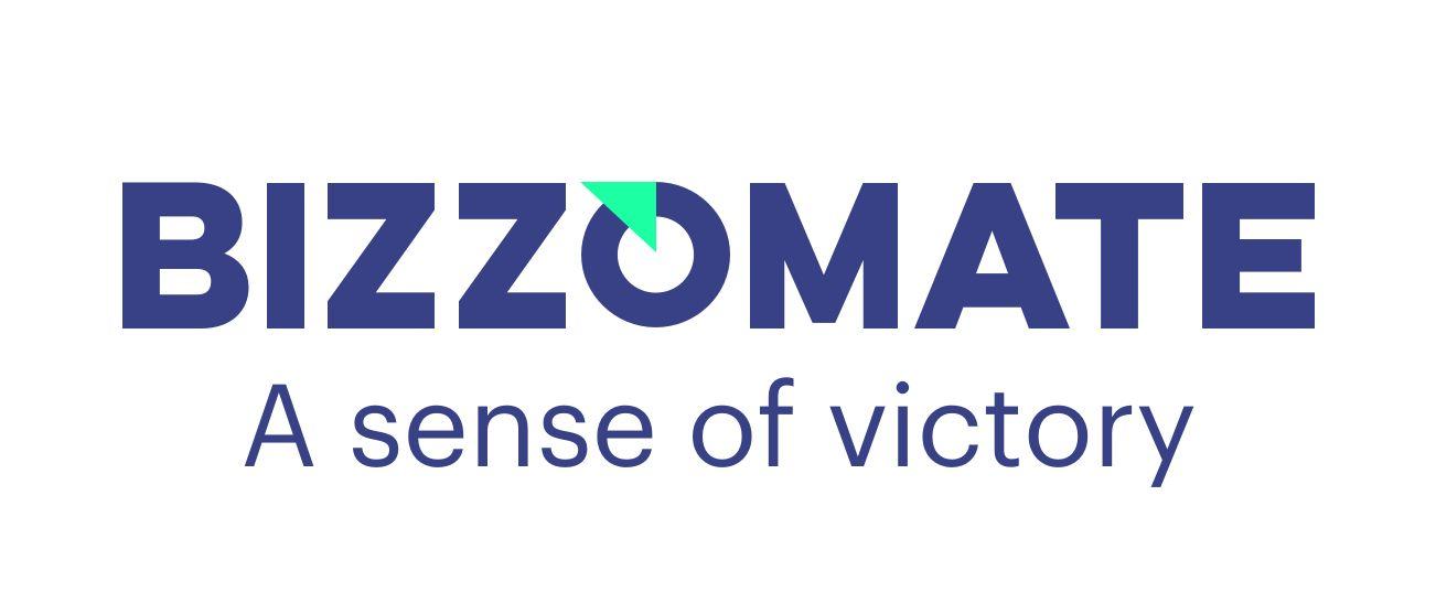 Bizzomate logo rgb tagline blue j 637382939633517085